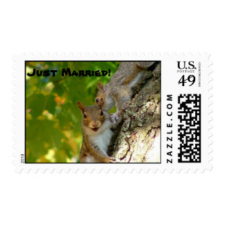 Just Married! Postage