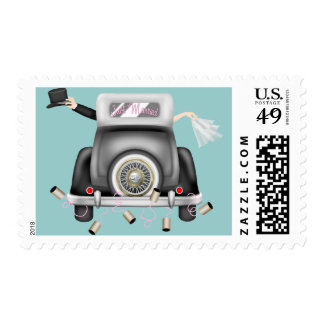 Just Married Postage