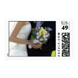 Just Married Postage Stamp