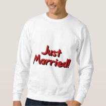 Just Married (Red) Sweatshirt