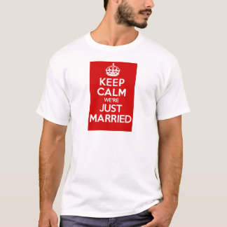 Just Married Red T-Shirt