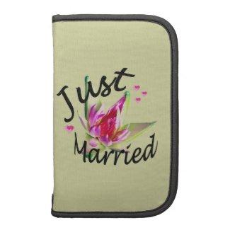 Just Married Rickshaw Folio Planners