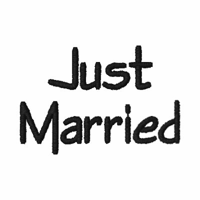Just Married shirt