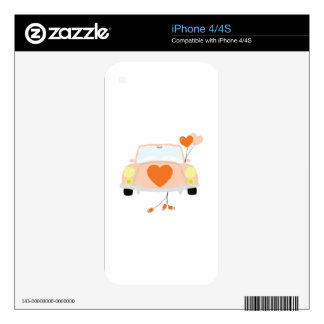 Just Married Skins For The iPhone 4
