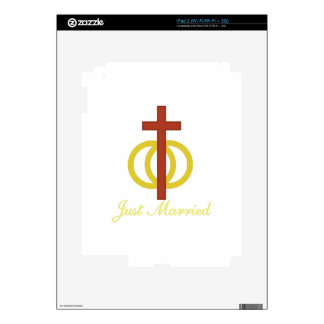Just Married Skin For iPad 2