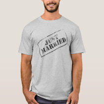 Just Married Stamp T-Shirt