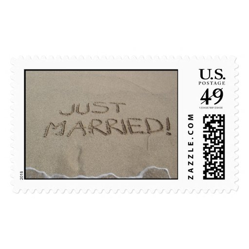 Just Married! Stamps