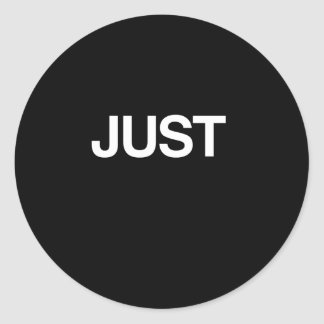 JUST (Married) Sticker