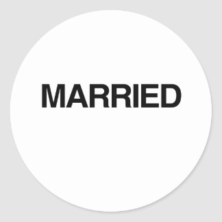 (Just) MARRIED Stickers