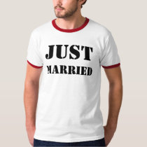JUST, MARRIED T-Shirt