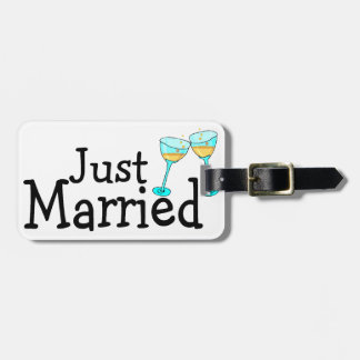 Just Married Tags For Bags