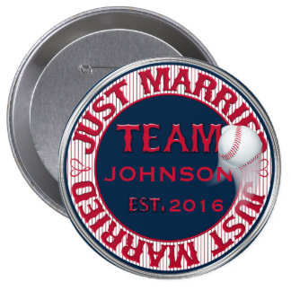 Just Married Team 02-CUSTOMIZED Button Pin