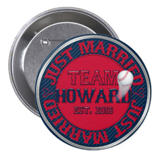 Just Married Team Howard-01-BUTTON PIN