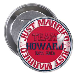 Just Married Team Howard-02-CUSTOM BUTTON PIN