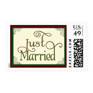 Just Married Thank you Postage