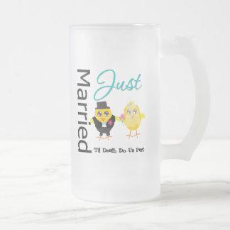 Just Married 'Til Death Do Us Part Coffee Mug
