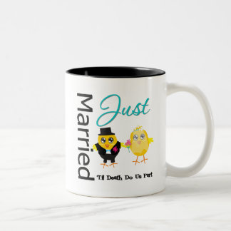 Just Married 'Til Death Do Us Part Coffee Mugs