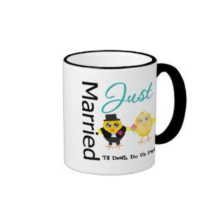 Just Married 'Til Death Do Us Part Mug