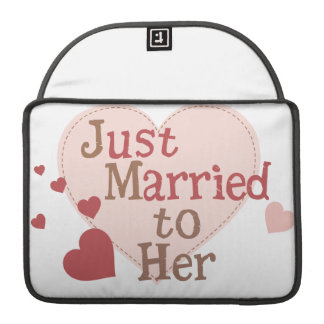 Just Married to Her MacBook Pro Sleeves
