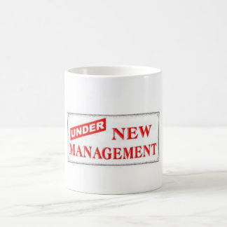 Just Married, Under New Management! Coffee Mug