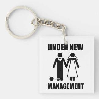 Just Married, Under New Management Keychain
