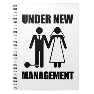 Just Married, Under New Management Note Book