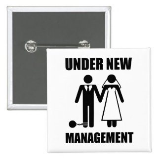 Just Married, Under New Management Pins