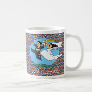 Just Married WB WG Classic White Coffee Mug