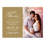 Just Married Wedding Announcements | Antique Gold Postcards