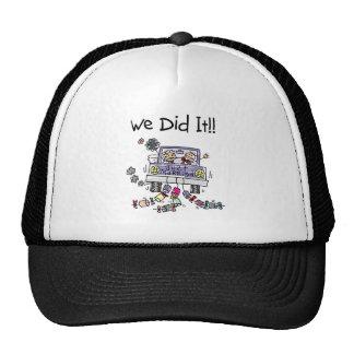 Just Married Wedding Car Trucker Hat