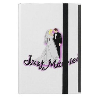 Just Married Wedding Couple Case For iPad Mini