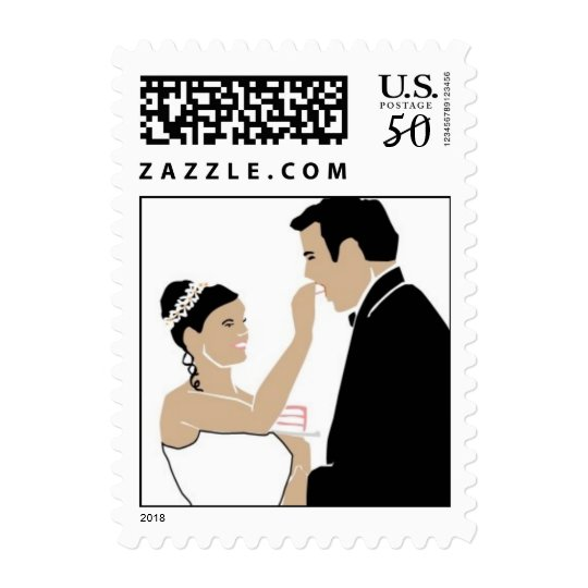 Just Married Wedding Save The Date RSVPS Postage