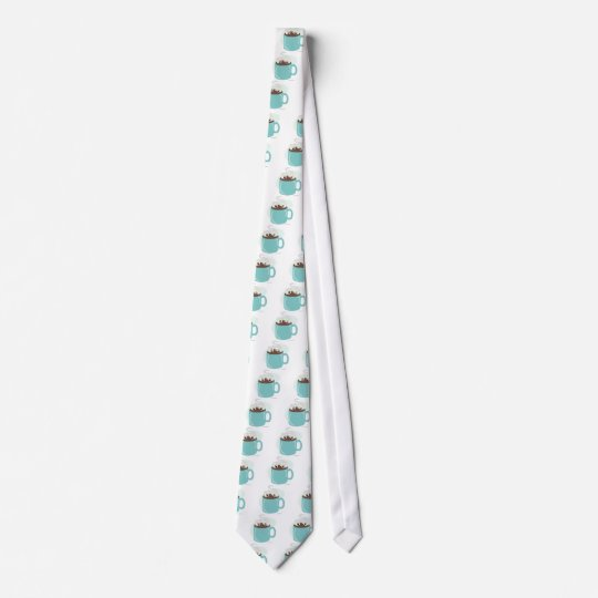 Just Marshmellows in Chocolate Neck Tie