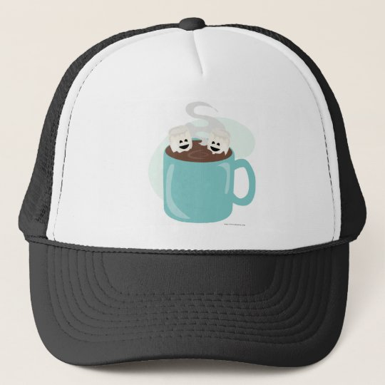 Just Marshmellows in Chocolate Trucker Hat