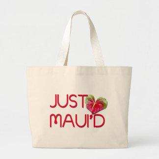 Just Maui'd Jumbo Tote Bag