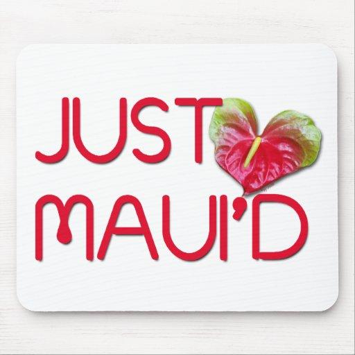 Just Maui'd Mouse Mat