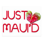 Just Maui'd Postcards