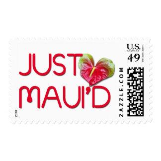 Just Maui'd Stamp