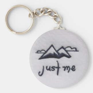 Just Me! Keychain