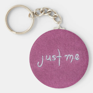 Just Me Logo! Keychain