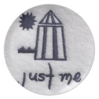 Just Me! Melamine Plate