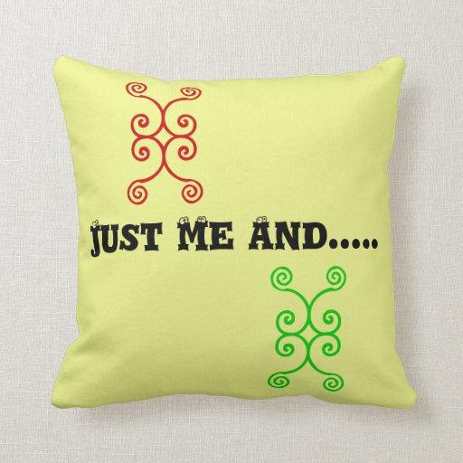 Throw Pillow Zazzle : Just Me Throw Pillow Zazzle