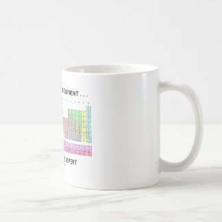 Just Missing An Element ... The Human Element Coffee Mug