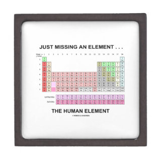 Just Missing An Element ... The Human Element Gift Box