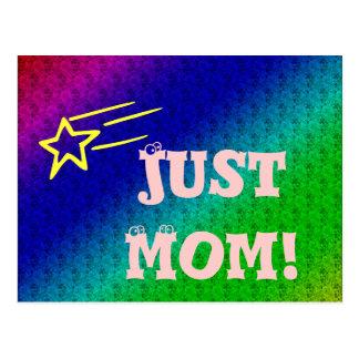 Just Mom Superstar Postcard