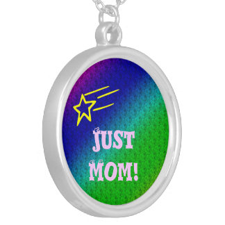 Just Mom Superstar Silver Plated Necklace