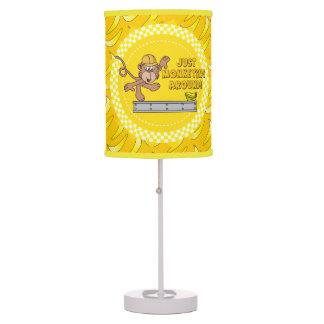 Just Monkey Around Nursery Theme Desk Lamp