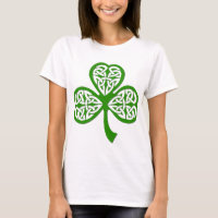 Just my lucky day - a tribal clover! T-Shirt