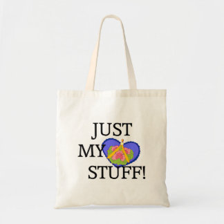 Just My Stuff! Floral Bag with Heart