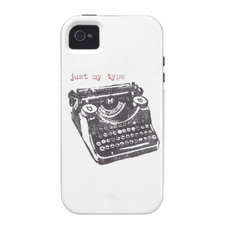 """just my type"" iphone 4/4s case"